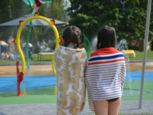 Wasserattraktionen für Freizeitbäder und Sprayparks