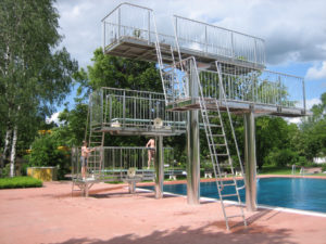 diving boards (spare parts)
