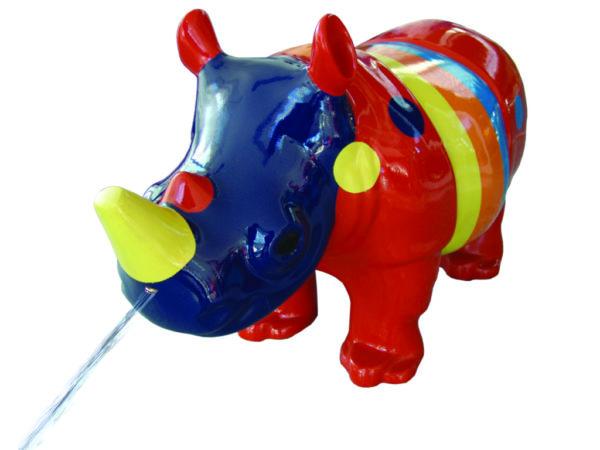Bubu Wasserspieltier Nashorn Rainbow 3D I