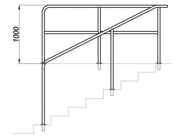 R771177 Seitengelaender Zeichnung I