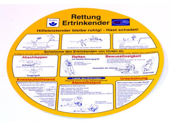 R771205 Schild Rettung Ertrinkender I