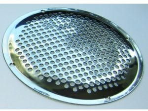 Stainless steel sieves, suction systems