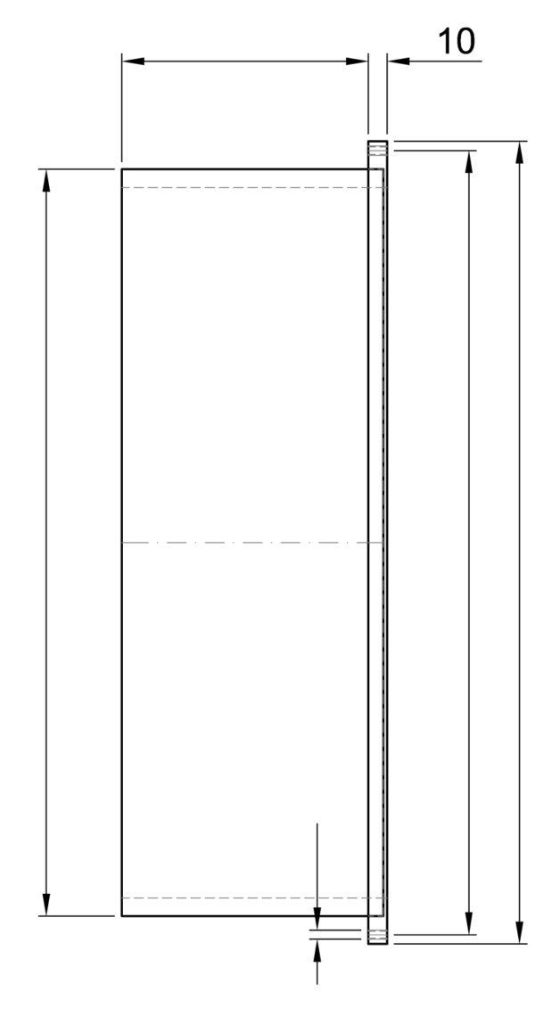 R83070 ROIGK Ansaugsystem Einbauteil Mitte Zeichnung Druck