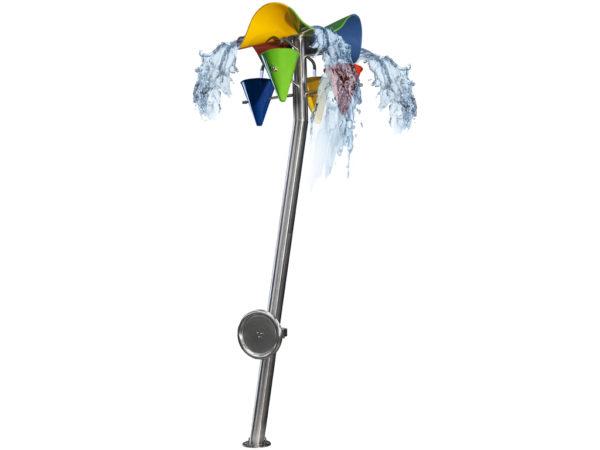 R8720 Wasserspiel GfK Blume Kegel 3D I