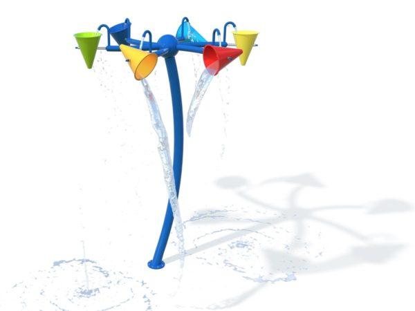 R8735 20 Wasserspiel mit Kegeln MASTER I