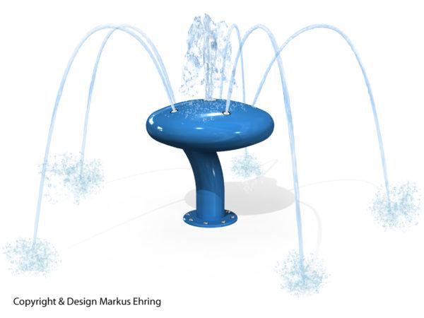 Wasserkaefer blau Rendering Wasser I