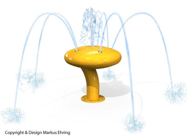 Wasserkaefer gelb Rendering Wasser I