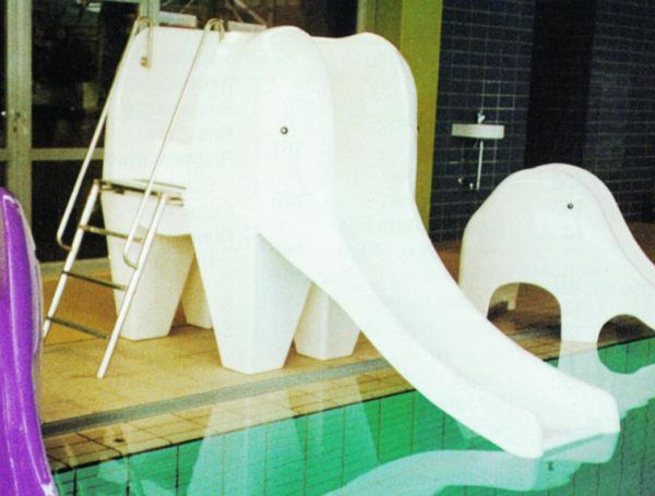 Wasserrutsche Elefant