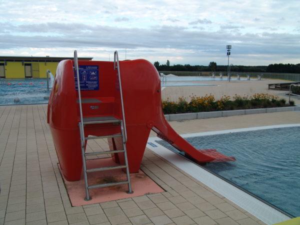Elefanten Wasserutsche